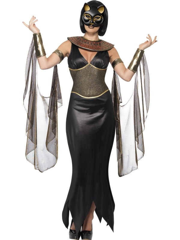 Goddess Bastet Katten Kostuum