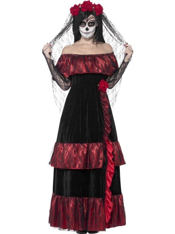Day of the Dead Bride Kostuum