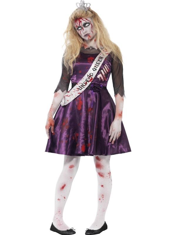 Zombie Prom Queen Tiener Halloween Verkleedkostuum
