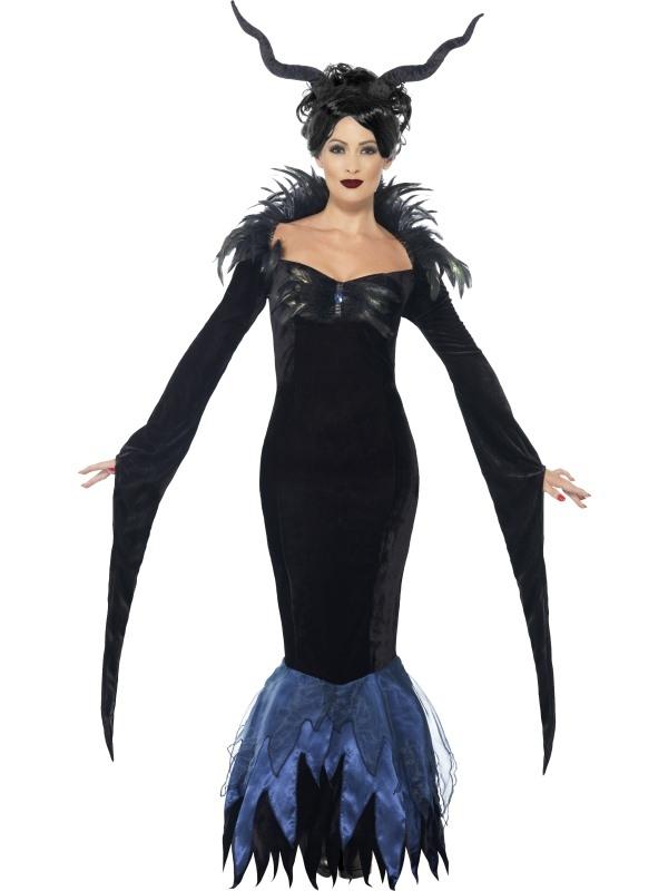 Lady Raven Halloween Kostuum