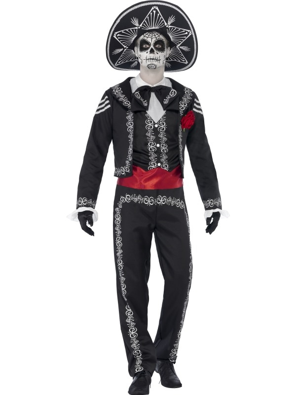 Day of the Dead Senor Halloween Kostuum
