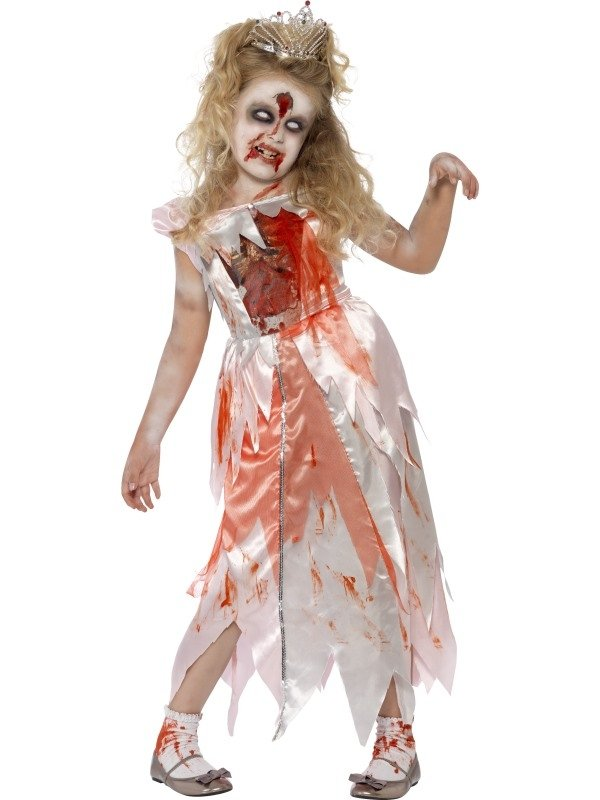 Zombie Sleeping Princess Halloween Kostuum