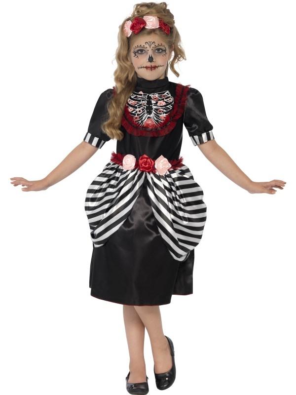 Sugar Skull Halloween Kostuum