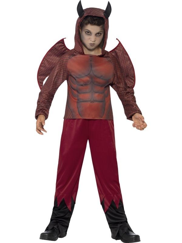 Deluxe Devil Halloween Kostuum
