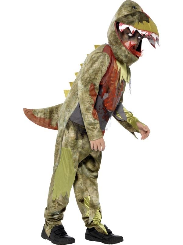 Deluxe Deathly Dinosaur Halloween Kostuum