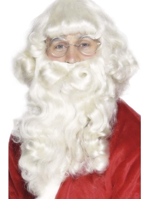 Luxe Kerstman Baard 38 cm