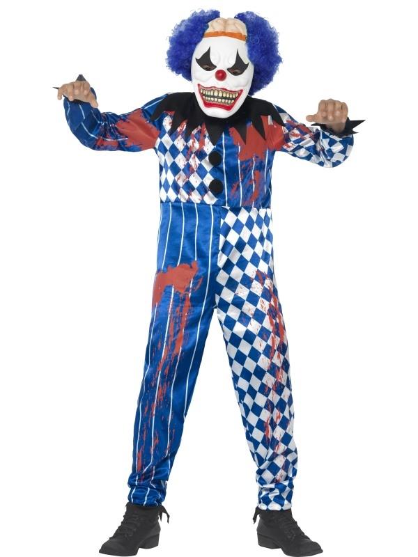 Deluxe Sinister Clown Halloween Kostuum