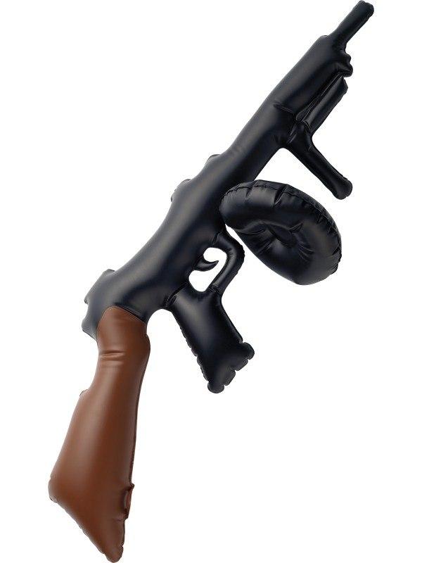 Opblaasbare Tommy Gun Geweer