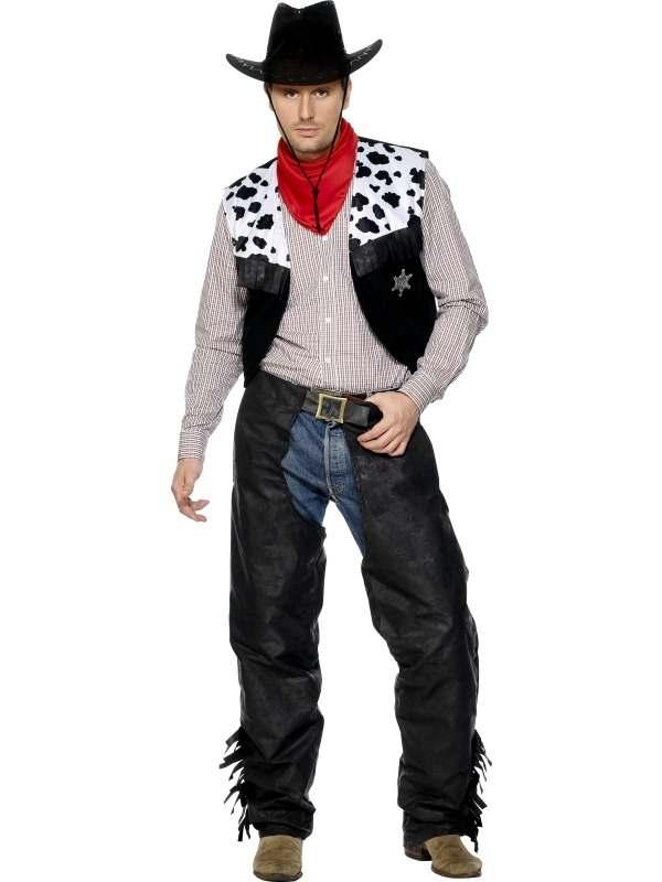 Leren Cowboy Heren Kostuum