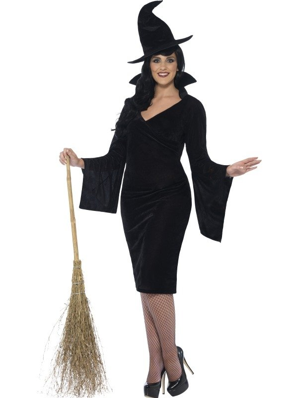 Curves Witch Halloween Kostuum