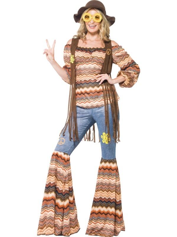 Harmony Hippie Seventies Dames Kostuum
