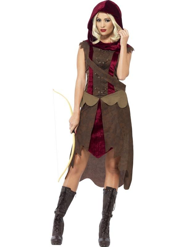 Huntress Kostuum