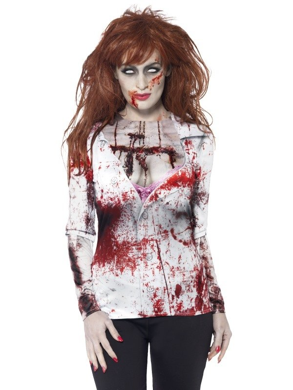 Zombie Dames Halloween T-Shirt