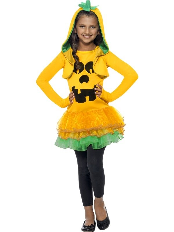 Pumpkin Tutu Dress Halloween Kostuum