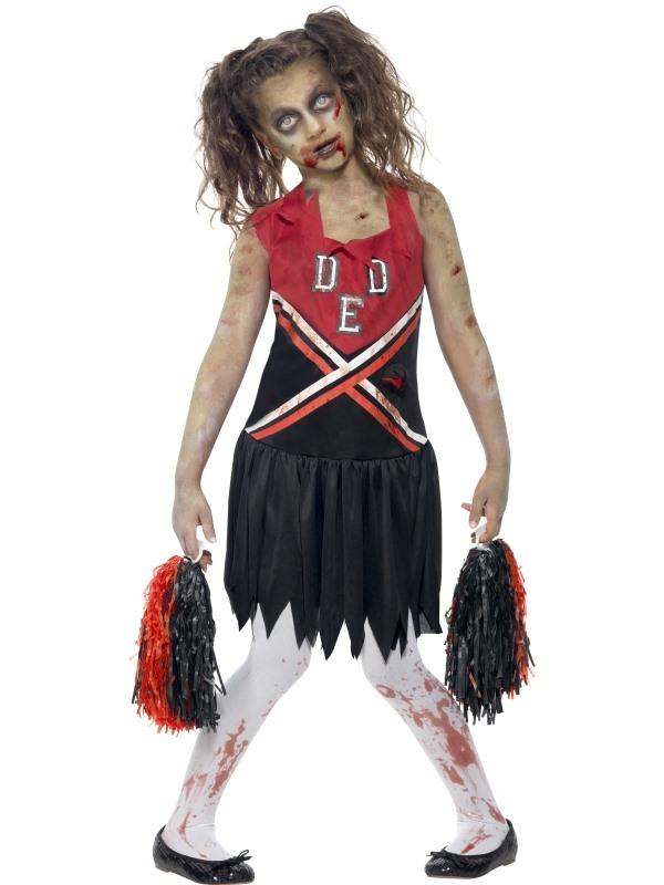Zombie Cheerleader Halloween Kostuum