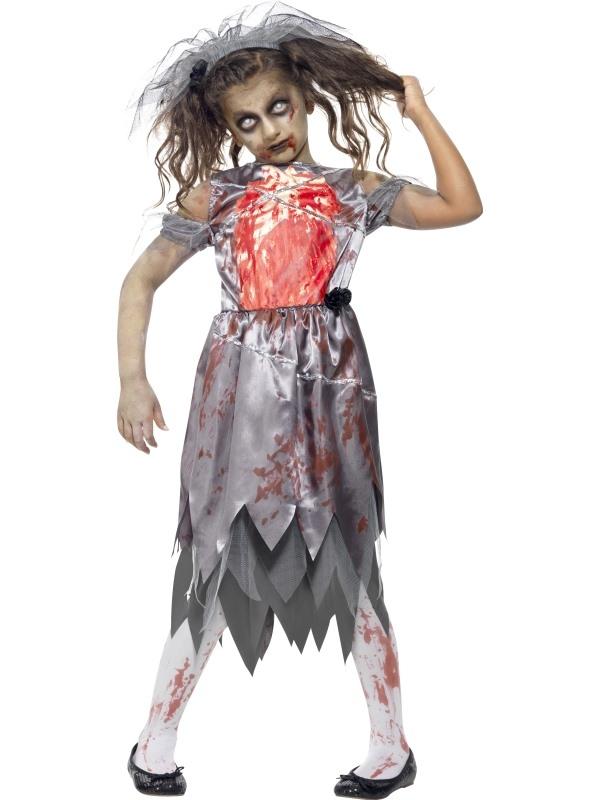 Zombie Bride Halloween Kostuum