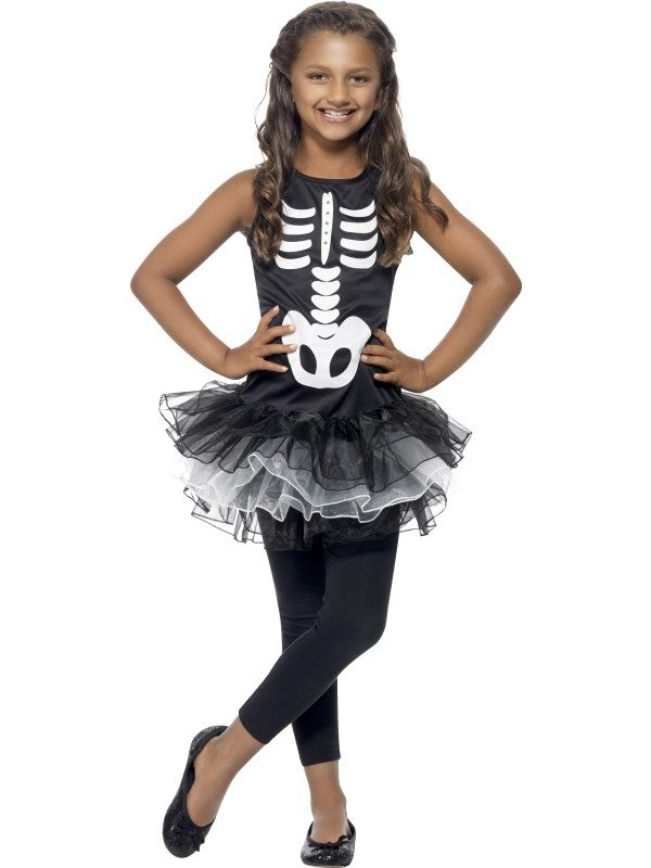 Skeleton Tutu Halloween Kostuum