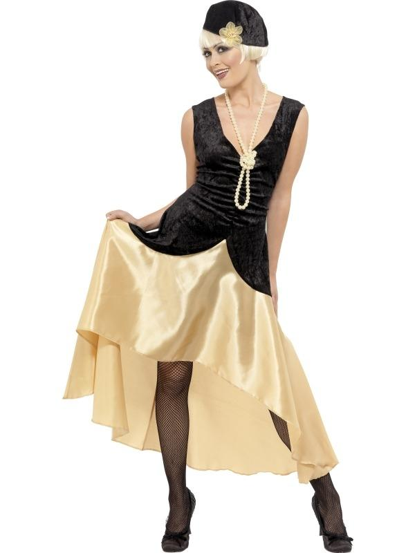 1920's Charlston Gatsby Dames Kostuum