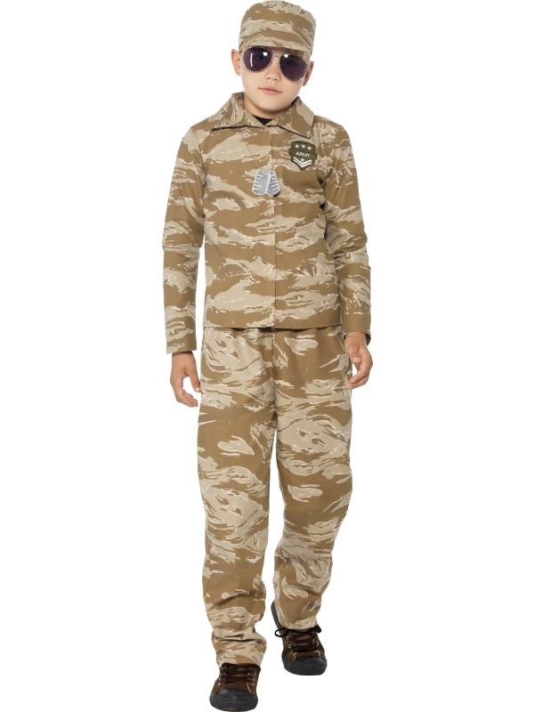 Desert Army Kostuum