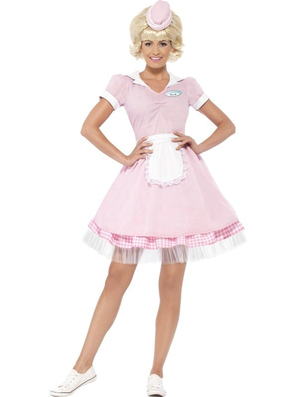 50's Diner Girl Kostuum