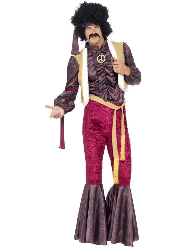 70's Psychedelic Rocker Kostuum