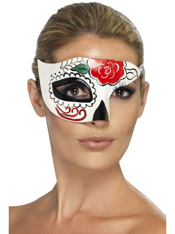 Day of the Dead Half Oogmasker