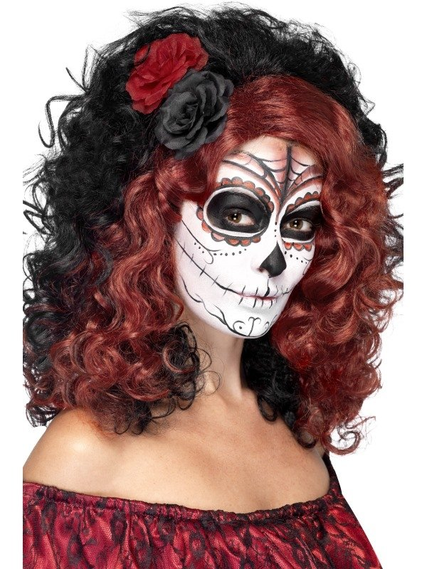 Day of the Dead Pruik
