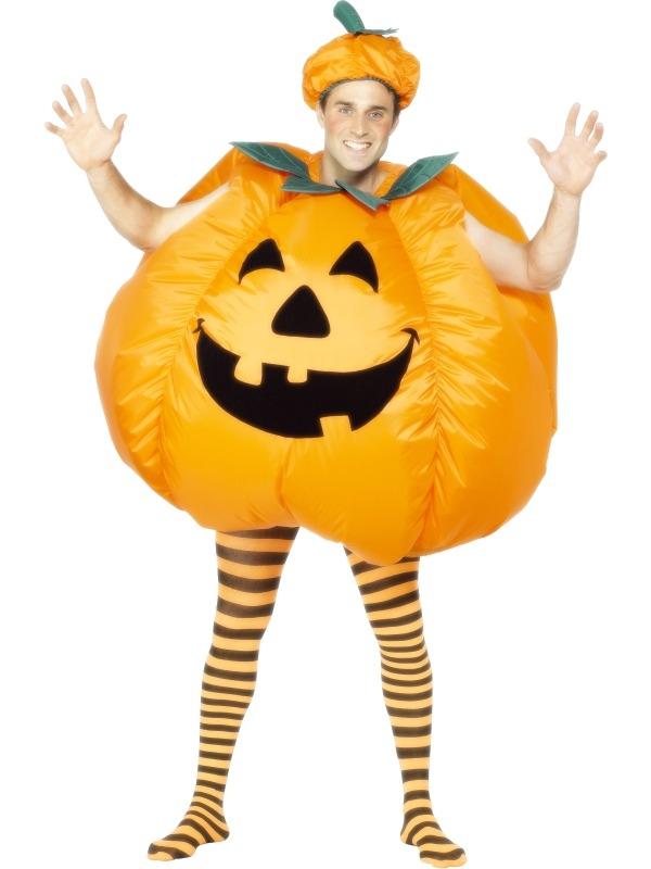 Pumpkin Opblaasbaar Halloween Kostuum