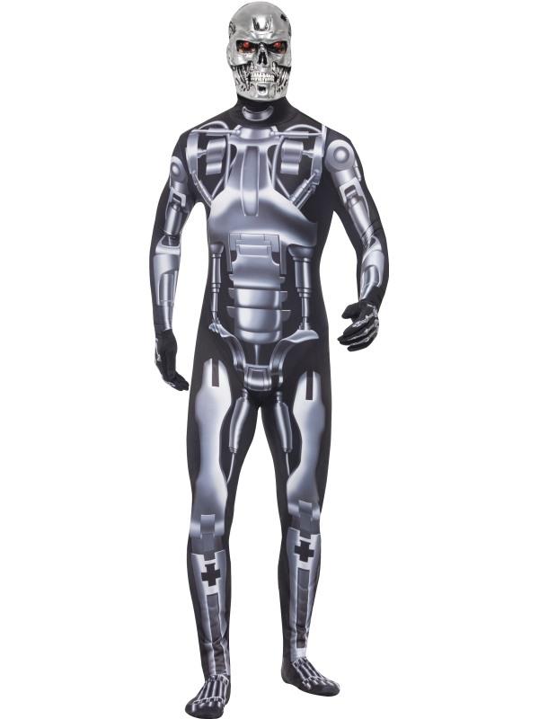 Endoskeleton Kostuum