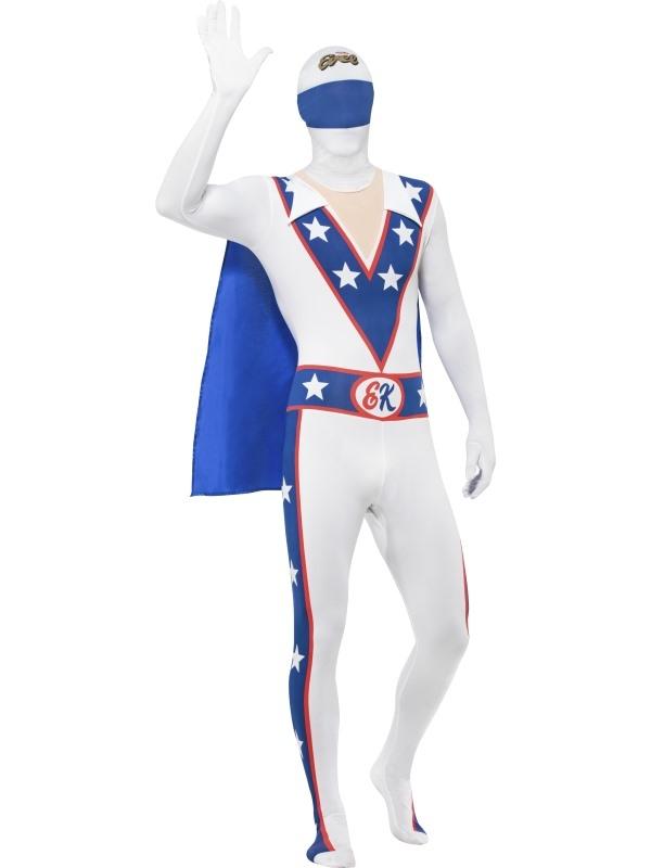 Evel Knievel Second Skin Kostuum