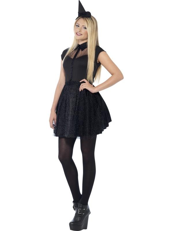 Glitter Witch Kostuum