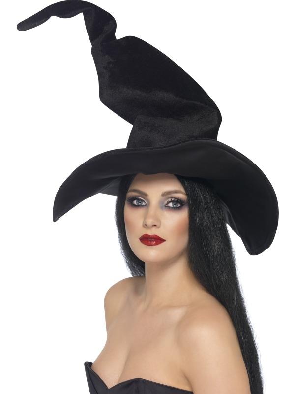 Zwarte Gekromde Heksenhoed