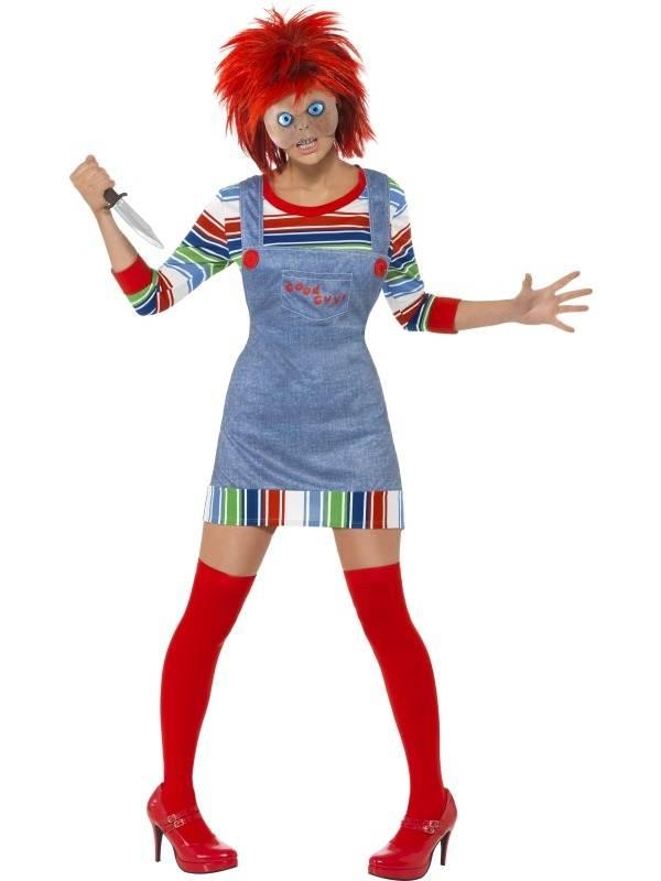 Eng Chucky Dames Kostuum