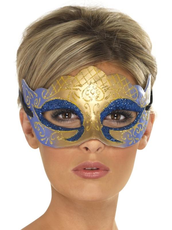 Venetian Colombina Glitter Oogmasker