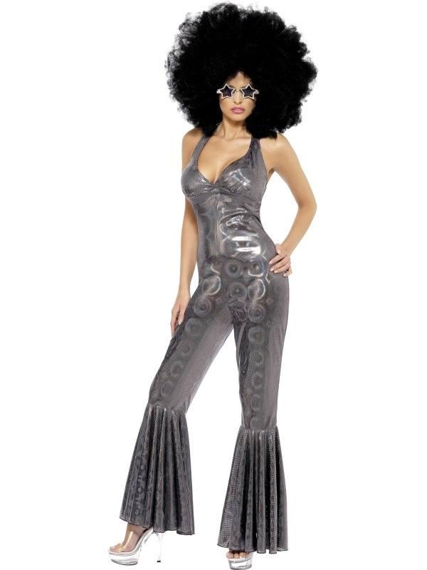 Disco Diva Dames Kostuum