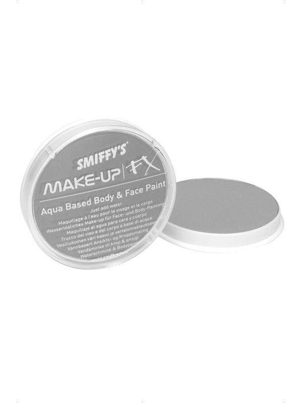 Lichtgrijze Make-Up FX Schmink Op Waterbasis