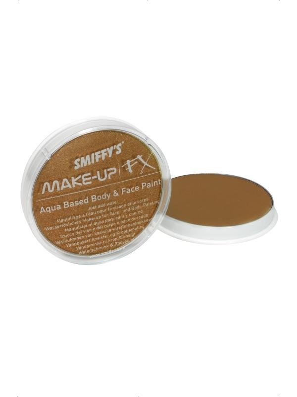 Metallic Bronzen Make-Up FX Schmink Op Waterbasis
