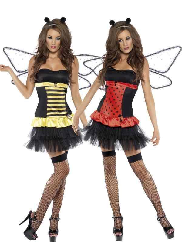 Fever 2-in-1 Bijen / Lieveheersbeestje Kostuum.