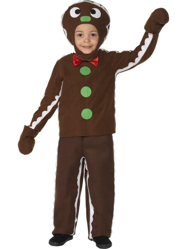 Ginger Bread Man Kinder Kostuum
