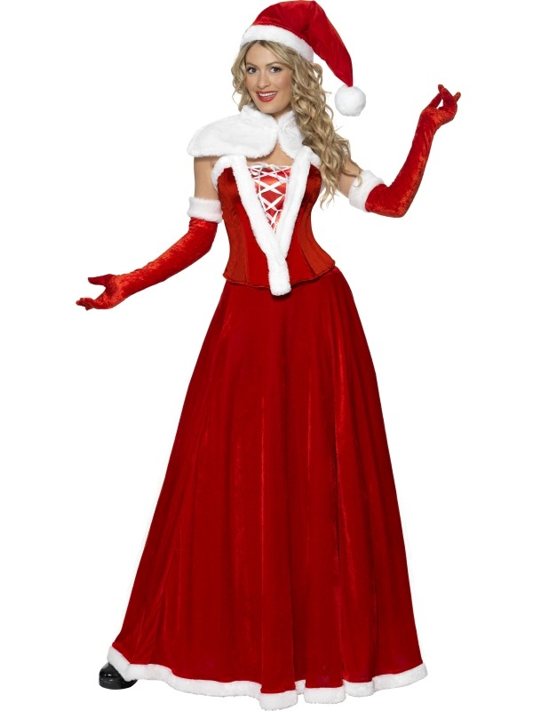 Luxe Miss Santa Kostuum