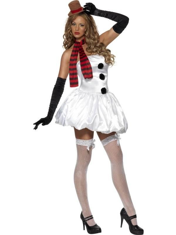 Fever Sexy Sneeuwvrouw Kerst Kostuum