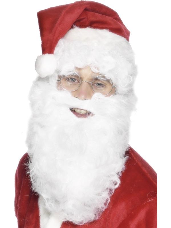 Kerstman Baard 28 cm