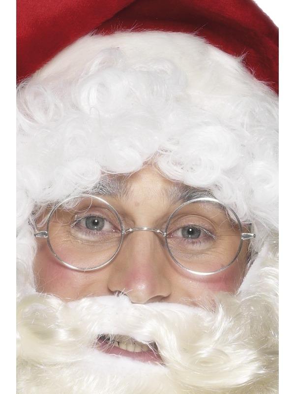 Kerstman Ronde Bril