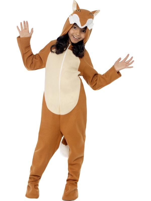 Fox Vos Kinder Unisex Onesie Verkleedkleding