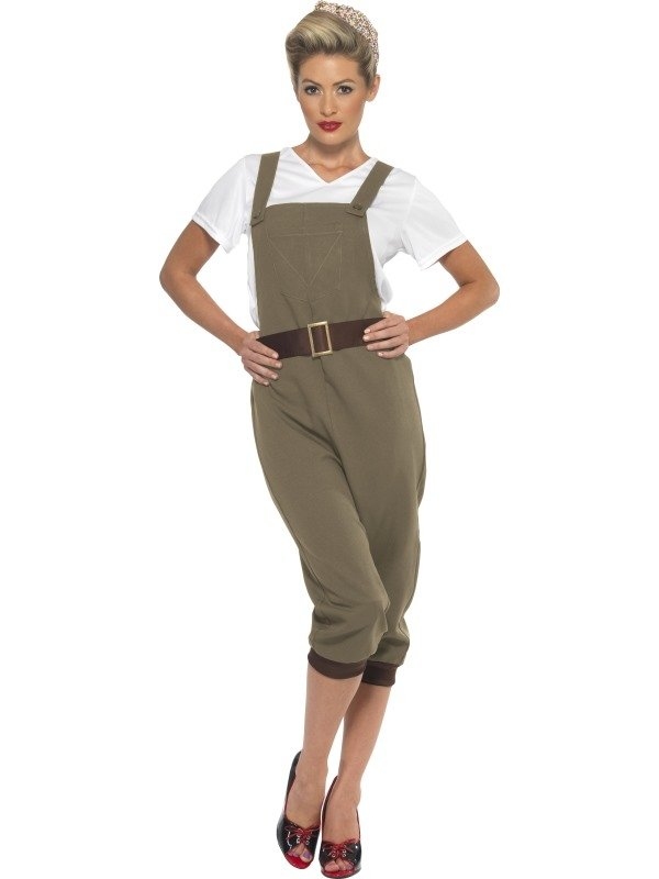 WW2 Land Girl Kostuum