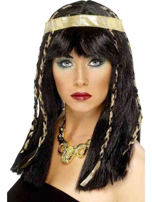 Egyptische Dames Pruik