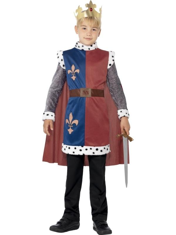 King Arthur Medieval Kinder Kostuum