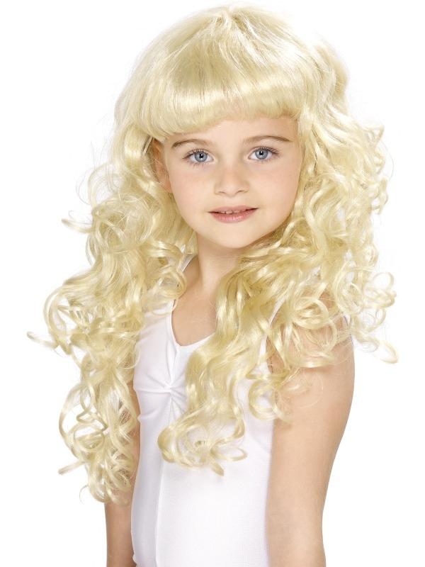 Kinder Meisjes Prinsessen Pruik