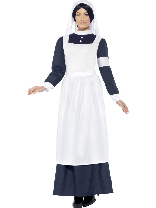 Oorlogs Verpleegster Kostuum