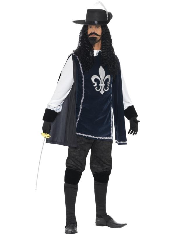 Musketeer Heren Kostuum